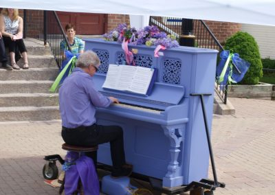 The Purple Piano