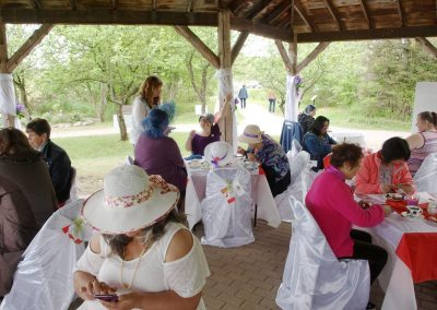 Victorian Tea on the Trail
